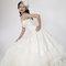 華麗宮廷白色婚紗禮服造型(編號:374059)