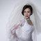 華麗宮廷白色婚紗禮服造型(編號:374064)