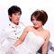 銘峯&小培 自助婚紗 婚紗外拍  新娘秘書  化妝彩妝整體造型(編號:374299)