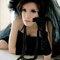 黑色婚紗禮服 廢墟婚紗外拍 自助婚紗 新娘秘書 化妝彩妝整體造型(編號:374315)