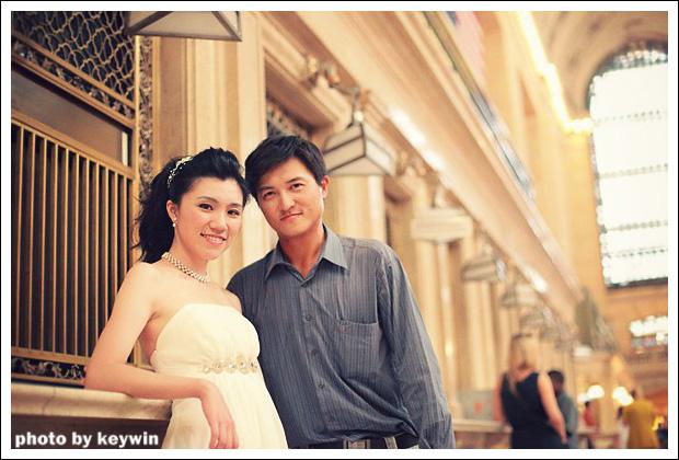 美國紐約中央車站海外婚紗