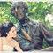 美國紐約海外婚紗~憶婷 & 殷豪~自助婚紗 婚紗外拍 新娘秘書 化妝彩妝整體造型(編號:376615)