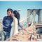美國紐約海外婚紗~憶婷 & 殷豪~自助婚紗 婚紗外拍 新娘秘書 化妝彩妝整體造型(編號:376647)