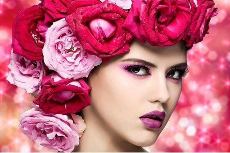 廣告作品  化妝彩妝造型