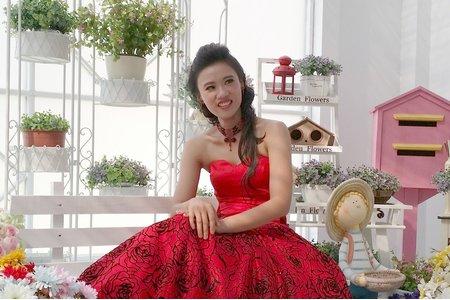 宮廷簡約風格婚紗造型 桃園婚紗外拍