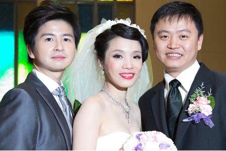 復古簡約風格 婚紗造型 台北新娘秘書