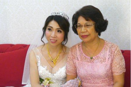 韓風韓系輕柔優雅風格 結婚造型 台北新秘