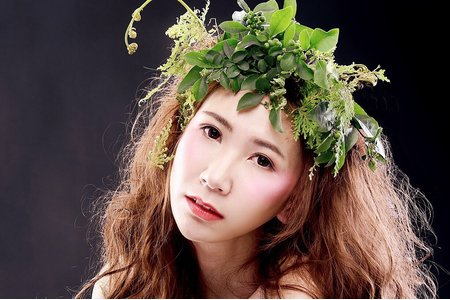 創意婚紗作品~森林