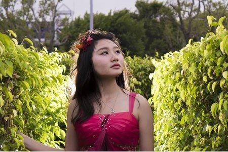 噴槍粉底+乾燥花系列 森林系仙仙風新娘