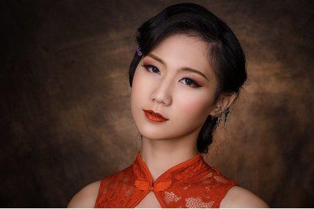 中國復古旗袍風造型