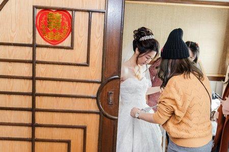上祐&晏青訂結儀式午宴婚禮紀錄