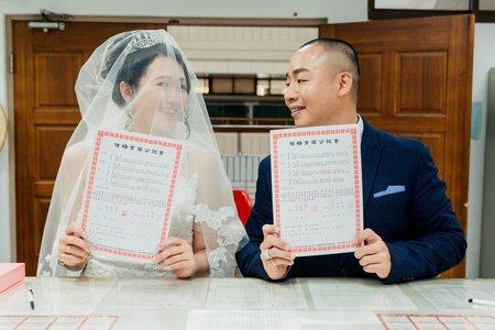 明彥&瑛麗證婚登記家宴婚禮紀錄