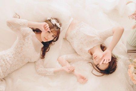 姊妹婚紗寫真