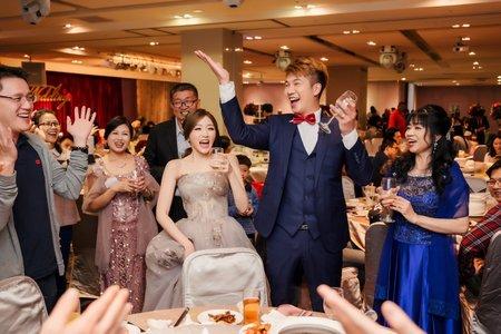偉勝&梔綦訂結晚宴婚禮紀錄