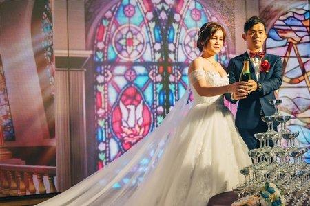 佳駿&麗雅單宴客晚宴婚禮紀錄