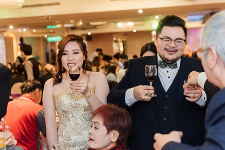 祺筌&雨青迎娶晚宴婚禮紀錄