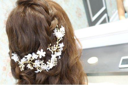 Isa婚禮造型_育維