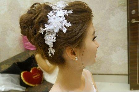 Isa婚禮造型_