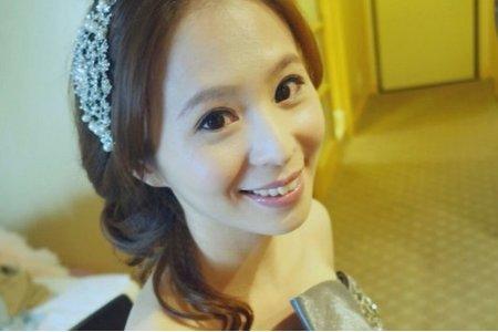 Isa婚禮造型_愛禎