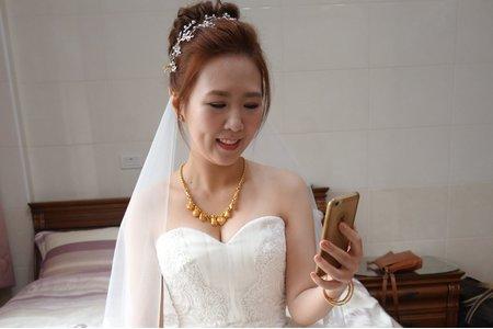 Isa婚禮造型_薏如