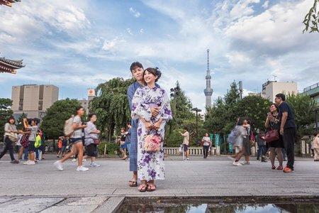 東京婚紗 海外婚紗 河口湖婚紗