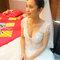 貴氣典雅的白紗包頭 Weishan Hsu Wedding ceremony(編號:398814)