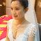 貴氣典雅的白紗包頭 Weishan Hsu Wedding ceremony(編號:398816)