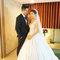 貴氣典雅的白紗包頭 Weishan Hsu Wedding ceremony(編號:398817)