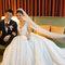 貴氣典雅的白紗包頭 Weishan Hsu Wedding ceremony(編號:398818)