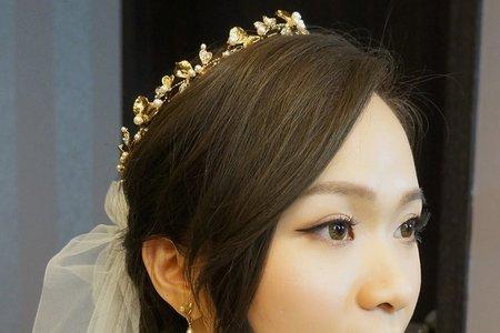 優雅的氣勢造型 茹中 Wedding ceremony