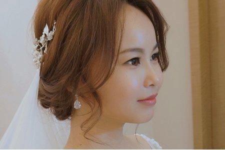 化完妝神似昆凌的長相-新郎新娘驚呼妝容實在太強了