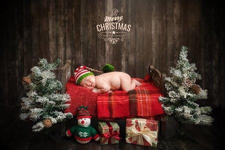 寶寶寫真-聖誕節限定拍攝-一年只開放一組全家寶寶拍攝
