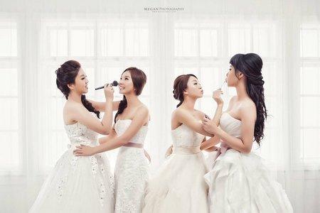 閨蜜婚紗-從學生時期認識的閨蜜們相約拍婚紗