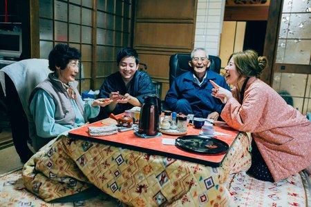 日本海外婚紗-回爺爺奶奶家篇