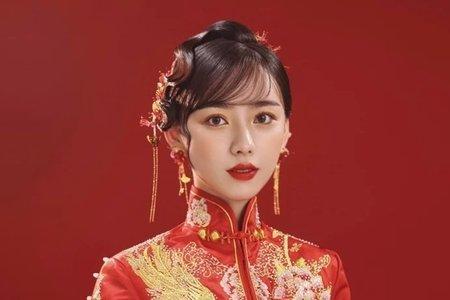 🌹紅色復古旗袍造型🍷