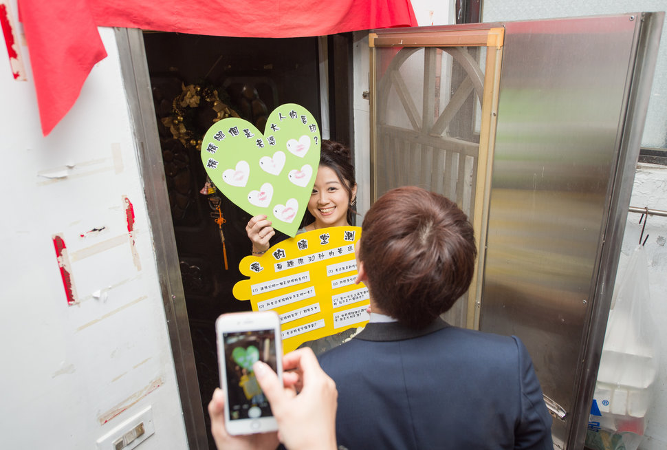 [台北婚攝] 文定迎娶儀式@台北花卉村宴客_(編號:432387) - Allen影像團隊 Love Story - 結婚吧
