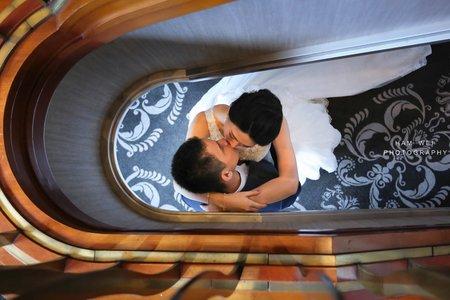 May 7,2017 Blake & Nicole  迎娶+午宴  台北世貿33