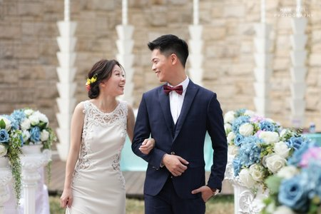 November 11,2018 倍民&婉珊  證婚 + 午宴  台中 薇格國際會議中心