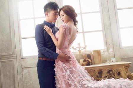 韓風素雅髮妝 歐系時尚名模妝感