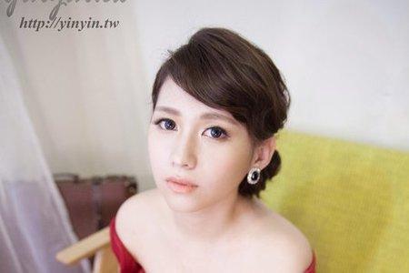 歐式名媛 簡單高雅 自然妝感 透亮光澤 短髮造型