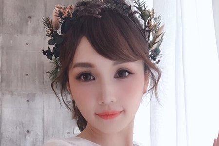 Aillsa 浪漫低馬尾(永生花)