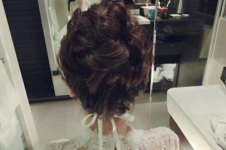 佳儀結婚造型