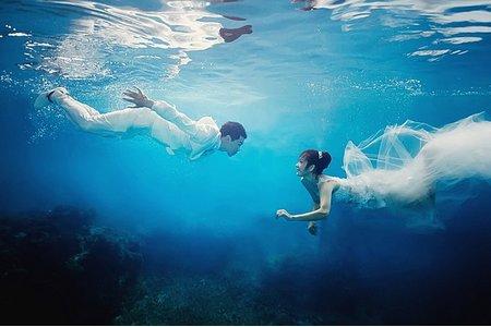 阿邦 / 子午 水中婚紗在最美一刻