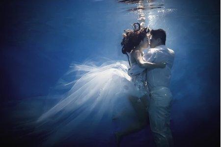Terry / Nina 水中婚紗在最美一刻