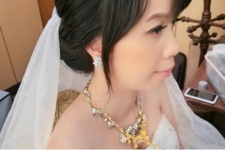 佩玉 訂結婚 宴客造型