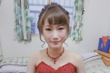 日系訂婚造型