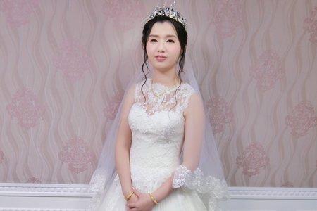 韓系甜美白紗造型