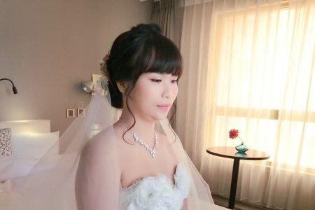 甜美白紗造型