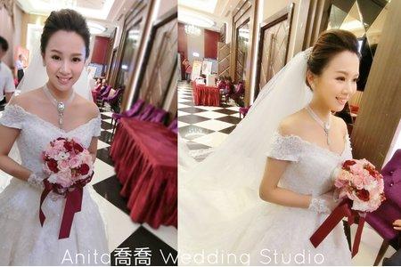 寶貝乃云結婚現場作品