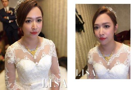 Lisa.阿黎彩妝造型 💒 Wedding work.梃芳❤️